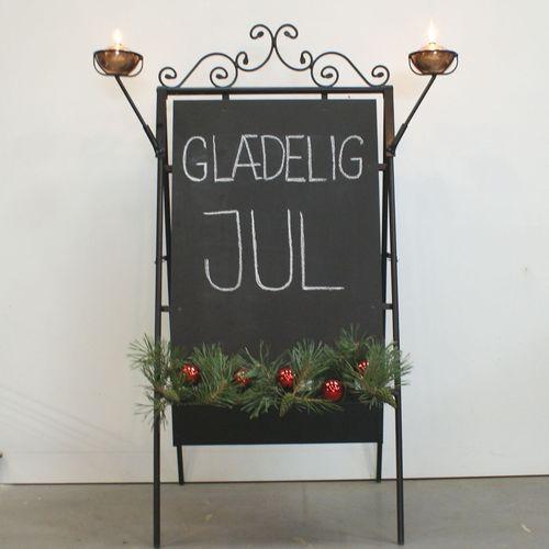 jul,juleskilt,glædelig jul,god jul,smedejernsskilt,Surrow Skilte